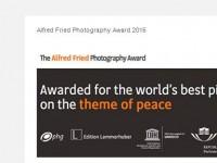 Alfred Fried Photography Award 2015 bittet wieder um Einreichungen!