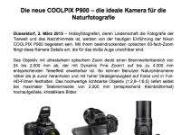 24-2000 – Nun hat Nikon den längsten Telebereich mit der Coolpix P900