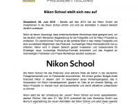 Die Nikon-School stellt sich neu auf – kann man Werte buchen?