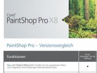 Corel glänzt mit PaintShop Pro X8 Ultimate:  Schneller schöne Bilder