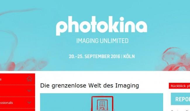 Das Presseschild als Adblocker für informationen oder Erfahrungen rund um die Photokina?