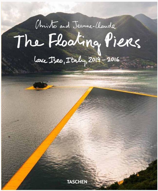 Fotografie trifft Kunst – Christo und Jeanne-Claudes Floating Piers auf dem Iseosee – das Buch im Taschen Verlag