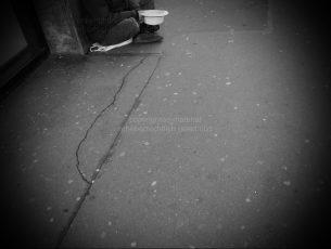 Symbolfoto Betteln und Armut