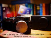 Lumix GX7 mit Panasonic 25mm F1.7