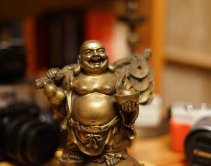 Buddha und Bokeh – Malen mit Licht