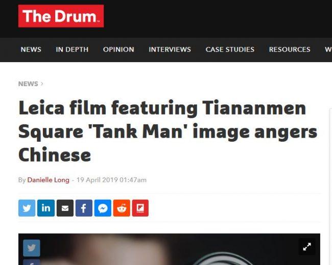 Leica darf in China nicht die Wahrheit sagen?!