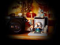 Der teleskopische Charakter der Kamera als Methode des Abstands in der Fotografie