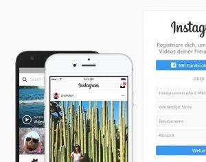 Instagram oder die Postkarte ist zurück