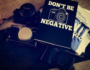 Sei nicht negativ