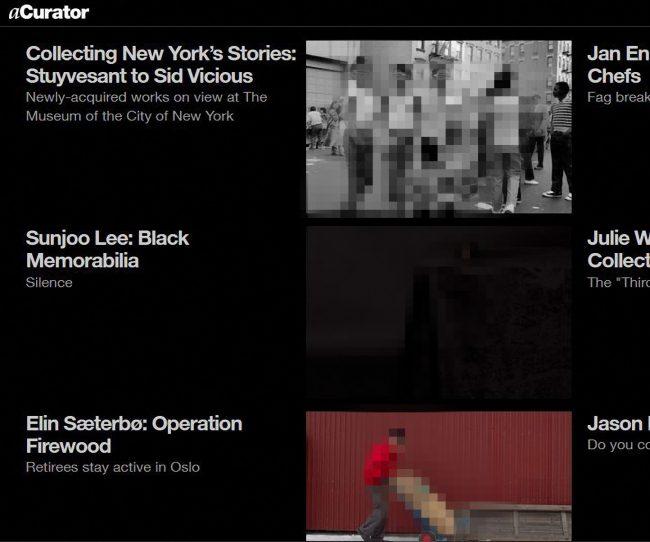 acurator.com – die Goldmine für zeitgenössische Fotografie