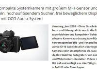 Panasonic Lumix G 100/110 – Lumix schlägt Sony